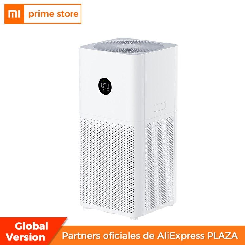 Очиститель воздуха Xiaomi 3C со светодиодной подсветкой, очиститель воздуха со свежим озоном для дома, автоматический дым, эффективность покры...
