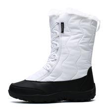 Женские зимние ботинки 2020 водонепроницаемая зимняя теплая