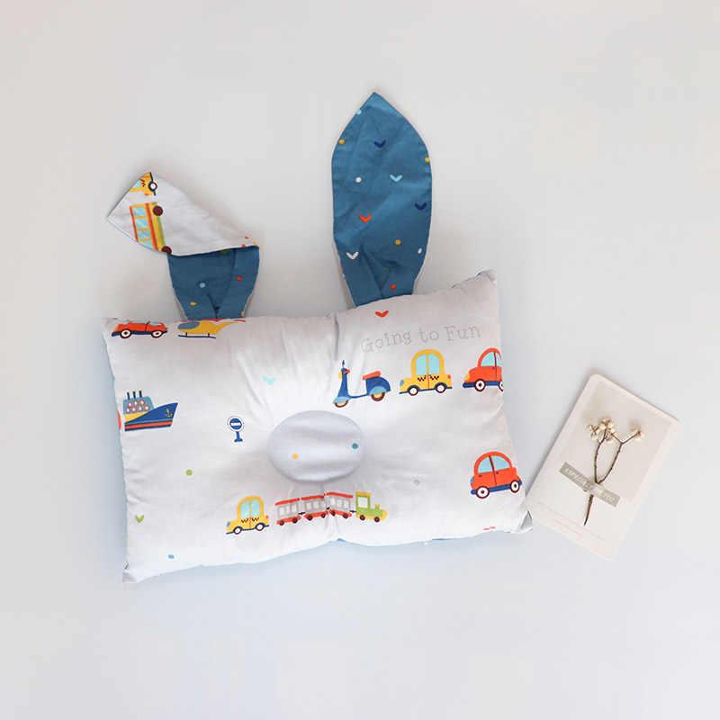 אנטי שטוח ראש תינוק כרית תינוק תינוקות חדר קישוט נורדי ילדים סיעוד כרית רך תינוקות כרית מצעים אבזר