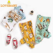 Childrens Trousers Cartoon Baby Clothing Kid Sport Spring Autumn Winter Boy Girl Version Animal ins 100% Cotton
