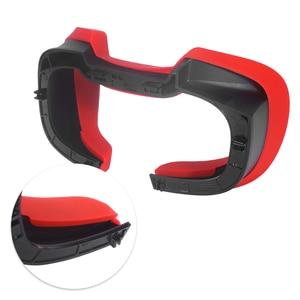 Image 5 - Yumuşak silikon göz maskesi kapak nefes işık engelleme göz kapak pedi Oculus Rift S VR kulaklık aksesuarları