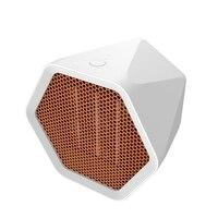 600W calentador eléctrico de escritorio abanico irregular del hogar del calentador de invierno más cálido Ajuste de ángulo para casa/oficina Estufas eléctricas    -