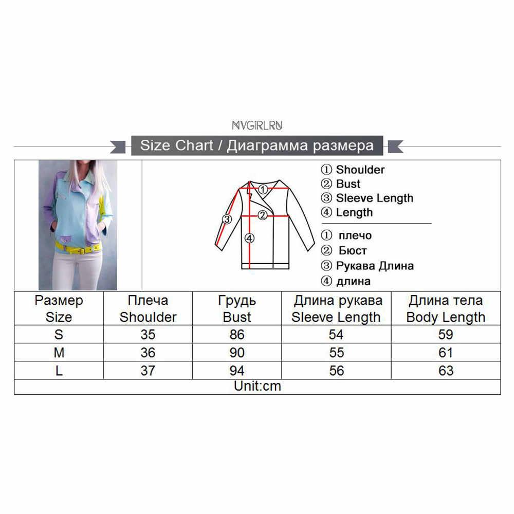 MVGIRLRU Chic Delle Donne della Pelle Scamosciata Giubbotti Basic oblique zip telai di design di colore di contrasto giacca cappotti outwear femminile