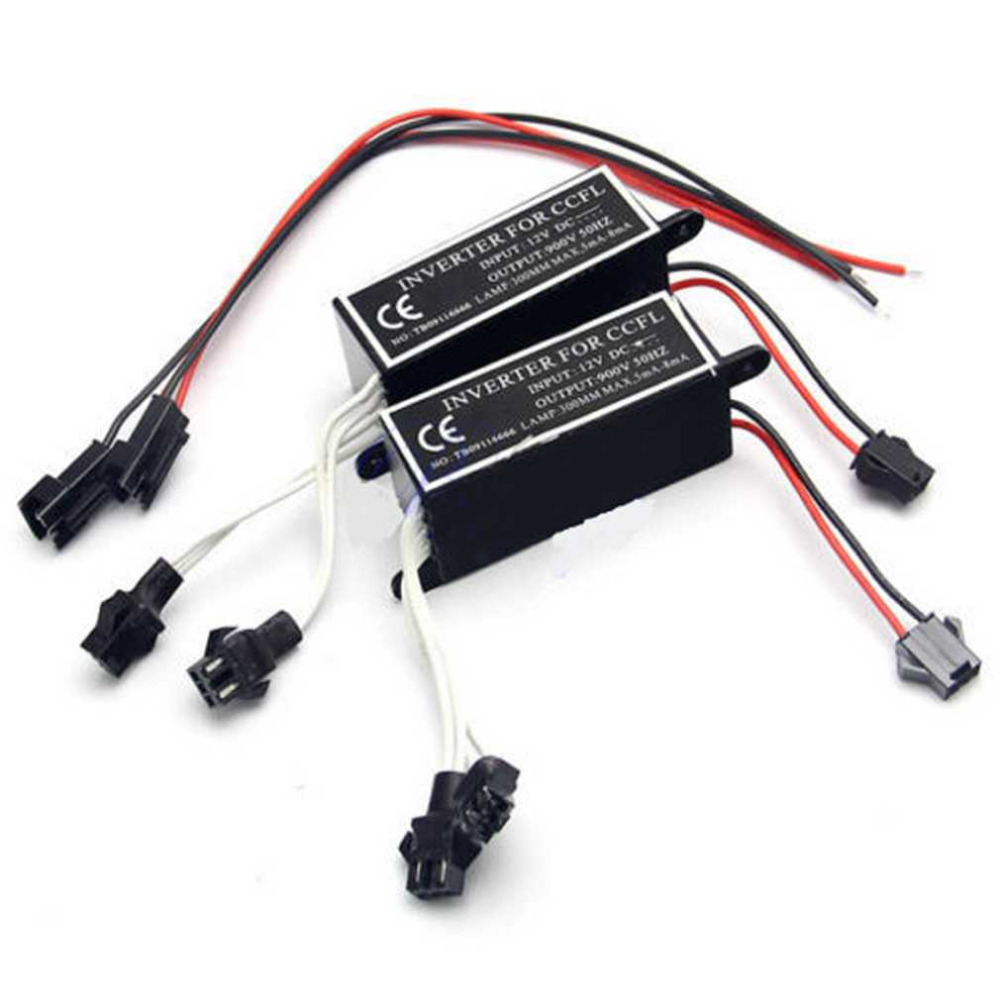 New Waterproof 12V CCFL Inverter Spare Ballast Halo Angel Eyes Rings Kit Replacement For BMW Mazda Lexus Transport Drop