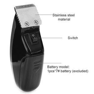 Image 5 - חשמלי שיער קליפר מיני שיער גוזם מכונת חיתוך זקן בארבר תער לגברים סגנון כלים במלאי זרוק חינם