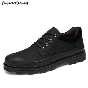 suede leather shoes men luxury brand male footwear comfortable outdoor lace up work italian business office oxford shoes for men