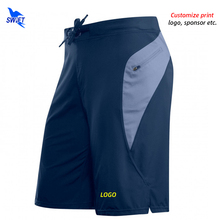 Men Gym Shorts Fitness Running Beach-Board Zipper Quick-Dry with Pocket Workout Customize