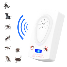 Electronic Ultrasonic Anti Mosquito Insect Repeller Rat Mouse Cockroach Pest Reject Repellent US Plug electronic mouse repeller bird repellent anti rat mosquito killer pest repeller mosquito reject control trap