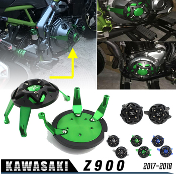 Motorcycle CNC  Z 900 Engine Saver Stator Case Cover Crash Protector Guard for Kawasaki Z900 2017-2018 Accessories