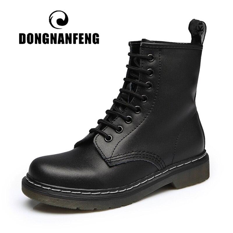 DONGNANFENG женские туфли на каблуках; Женская обувь мужская обувь; Обувь из натуральной кожи; Сапоги для женщин; На платформе; Обувь с роскошным м...