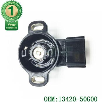 Nowy czujnik położenia przepustnicy OEM 13420-50G00 pasuje do chevroleta dla Geo Suzuki TPS czujnik położenia przepustnicy 13420-50G00 tanie i dobre opinie GZKAIMIN CN (pochodzenie) Piezoelektryczny Typ przełącznika
