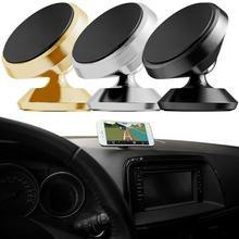 Universal Magnetic Car Air Vent Mount Mobile Phone Holder Bracket Cradle Stand