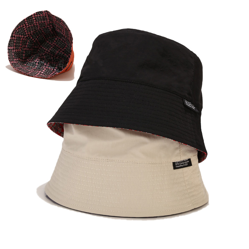 Summer New Small Floral Double-Sided Basin Hat Breathable Foldable Sun Hat Japanese Small Fresh Bucket Hat Unisex Travel Hat