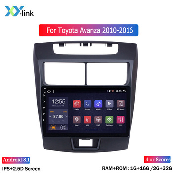 Android 8.1 Car Radio Multimedia Video Player Navigation GPS For Toyota Avanza 2010 2011 2012 2013 2014 2015 2016 image