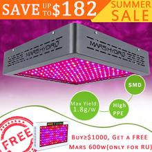 Free Shipping!!420 Magzine Recommended Mars II LED Grow Light 5W 900W 5watt Diodes for Indoor Plants Veg and FLowering free shipping 5band 50w 50 1w led grow light better for flowering lighting high quality with 3years warranty dropshipping