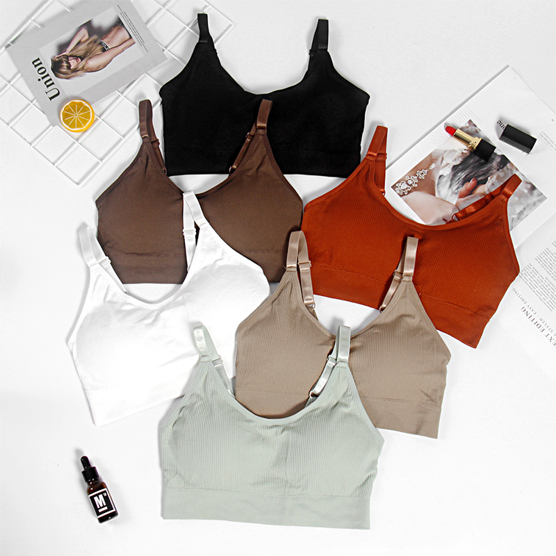 CMENIN Summer Tube Top Women Lingerie Tank Top 6 Colors Sexy Bras For Women Tube Tops 2019 New Bandeau Top B0082