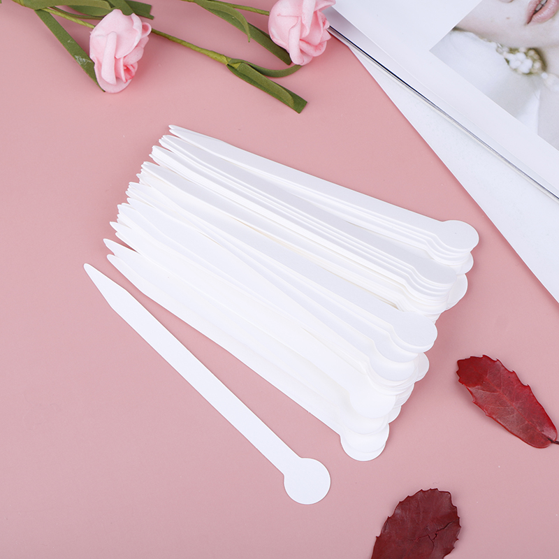 100pcs Aromatherapy Fragrance Perfume Essential Oils Test Tester Paper Strips