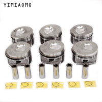 OEM 03H107065N/C/F Engine Parts Pistons &Rings Kit For Audi Q7 VW Passat CC Touareg Phaeton 3.6L BLV 03H 107 065 F 03H 107 066 N