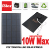 USB Solar Panel Outdoor 5V 2W 5W 6W 10W Portable Solar Charger Pane Climbing Charger Polysilicon Tablet Solar Generator Travel 1