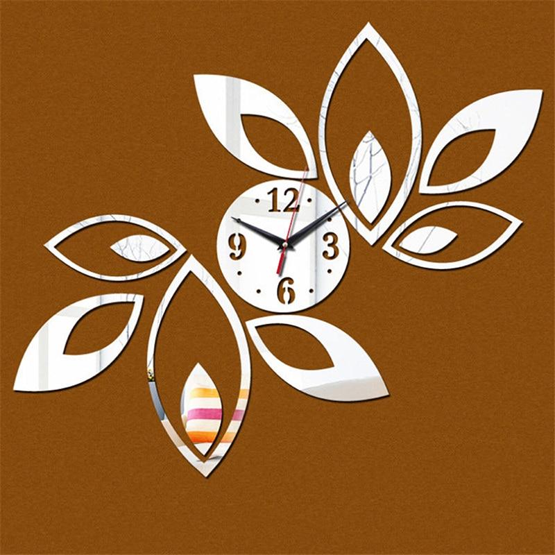 Настенные часы настенные наклейки домашний декор для гостиной