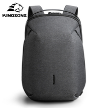 Kingsons 2020 New High-end Man Backpack Fit 15 inch Laptop USB Recharging Multi-layer Space Travel M
