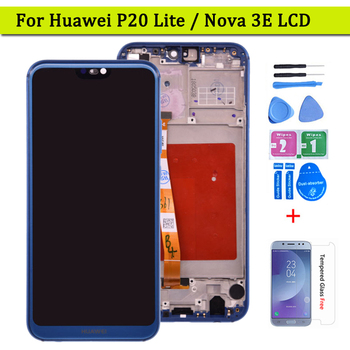 For Huawei P20 Lite LCD Display Touch Screen Pannel Digitizer Assembly ANE-LX1 ANE-LX3 For Huawei Nova 3e LCD