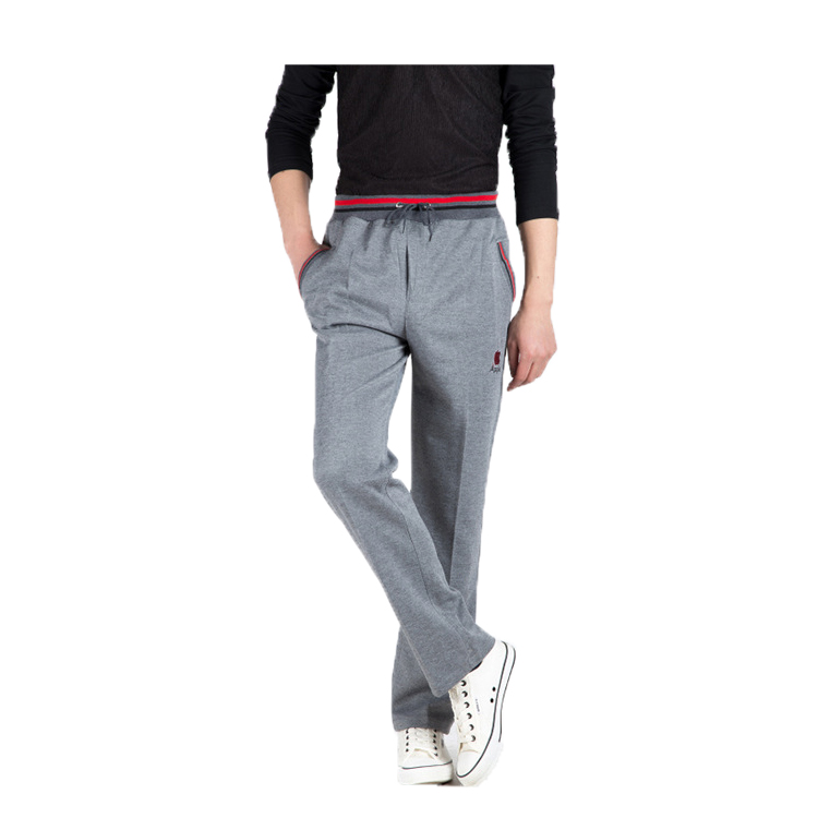 Summer Joggers Men Casual Pants Sweatpants Men Basic Trousers Tracksuit Strip Splice Bottoms Breathable Sportswear Straight Pant