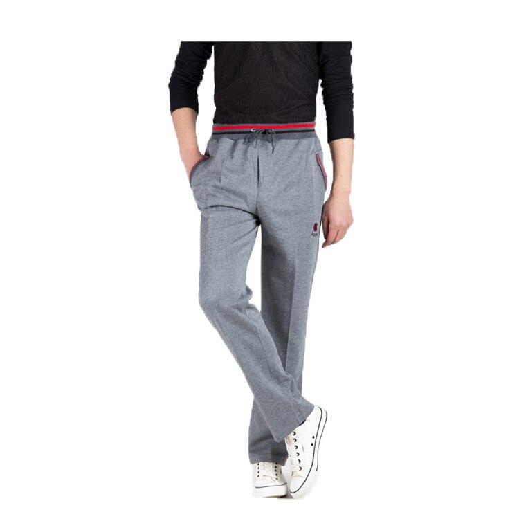 Summer Joggers Men Casual Pants Sweatpants Men Basic Trousers Tracksuit Strip Splice Bottoms Breathable Sportswear Straight Pant