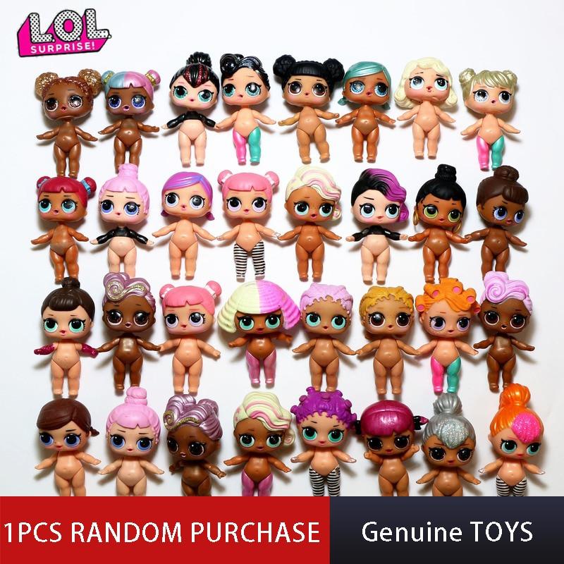 Genuine Original Lol Surprise Dolls Random Styles Send 1PCS Diy Lols Dolls Puzzle Toys LOL Capsule Girl Toy Surprise Dolls