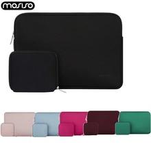 MOSISO 방수 노트북 가방 11.6 12 13 13.3 14 15.6 인치 맥북 프로 에어 아수스 네오프렌 노트북 슬리브 커버 운반 케이스