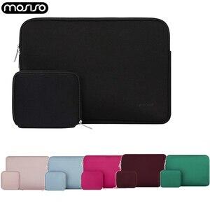 Image 1 - MOSISO bolsa impermeable para ordenador portátil, funda protectora de neopreno para Macbook Pro Air y Asus, 11,6, 12, 13, 13,3, 14, 15,6 pulgadas