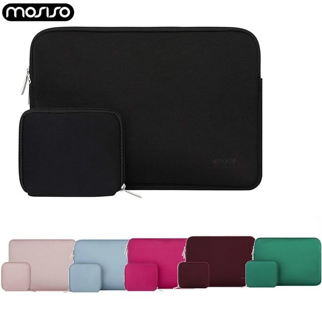 MOSISO bolsa impermeable para ordenador portátil, funda protectora de neopreno para Macbook Pro Air y Asus, 11,6, 12, 13, 13,3, 14, 15,6 pulgadas