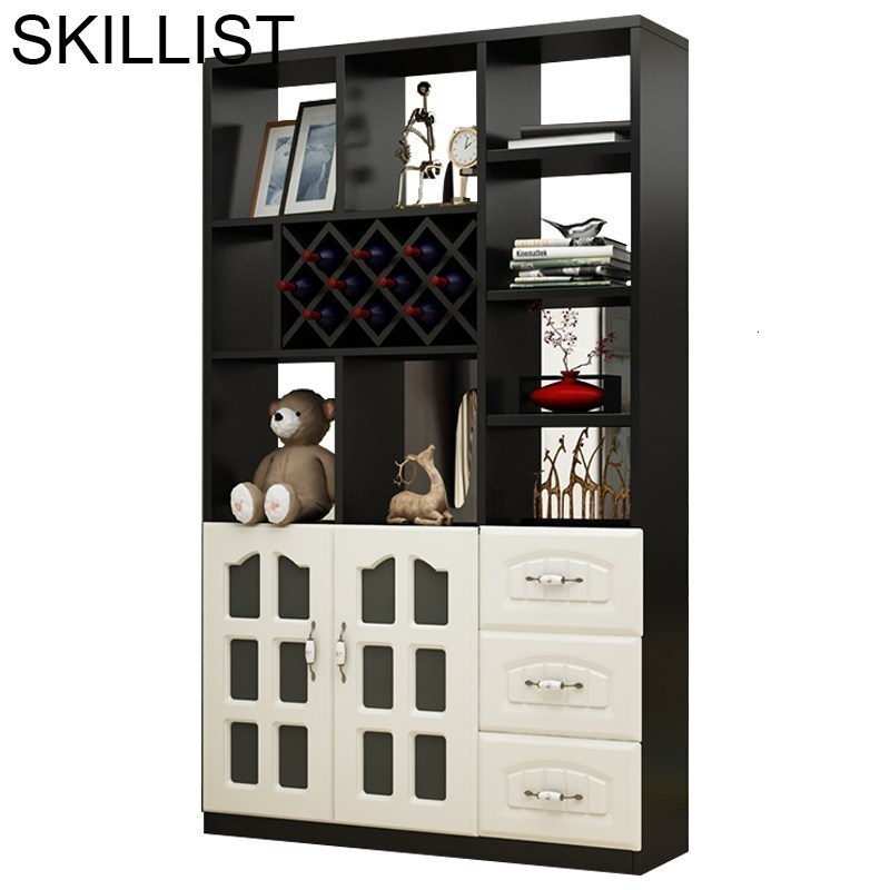 Meble Mesa Mueble Sala Shelves Table Vetrinetta Da Esposizione Desk Cocina Dolabi Commercial Furniture Shelf Bar Wine Cabinet