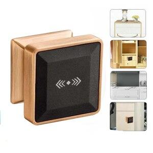 Image 1 - Cerradura electrónica para armario con tarjeta RFID, cerradura de puerta inteligente de inducción electrónica adecuada para armarios, hoteles y baños