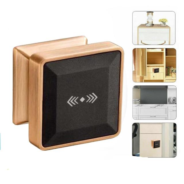 Cerradura electrónica para armario con tarjeta RFID, cerradura de puerta inteligente de inducción electrónica adecuada para armarios, hoteles y baños