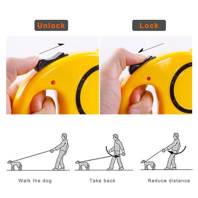 Retractable Dog Leash  2