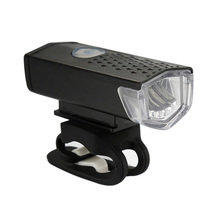 цена на Bike Light Rechargeable 300 Lumens 3 Modes Bicycle Lamp Light Front Headlight Bike Bicycle LED Flashlight Lantern