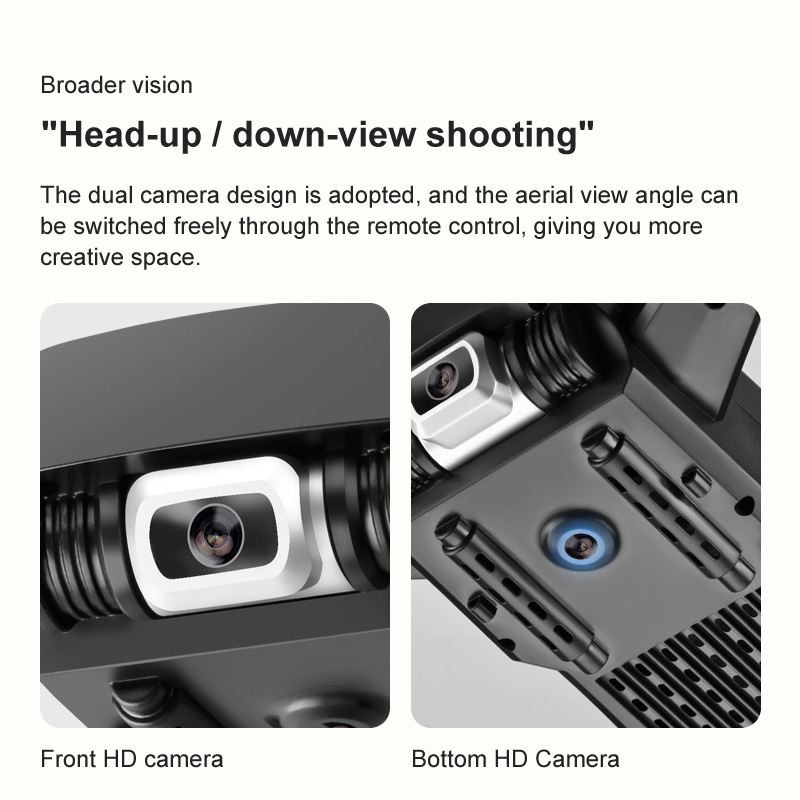 Dual Camera 4K PIXELS 50X zoom Gesture photo and video Easily shoot perfect pictures.-Broader vision