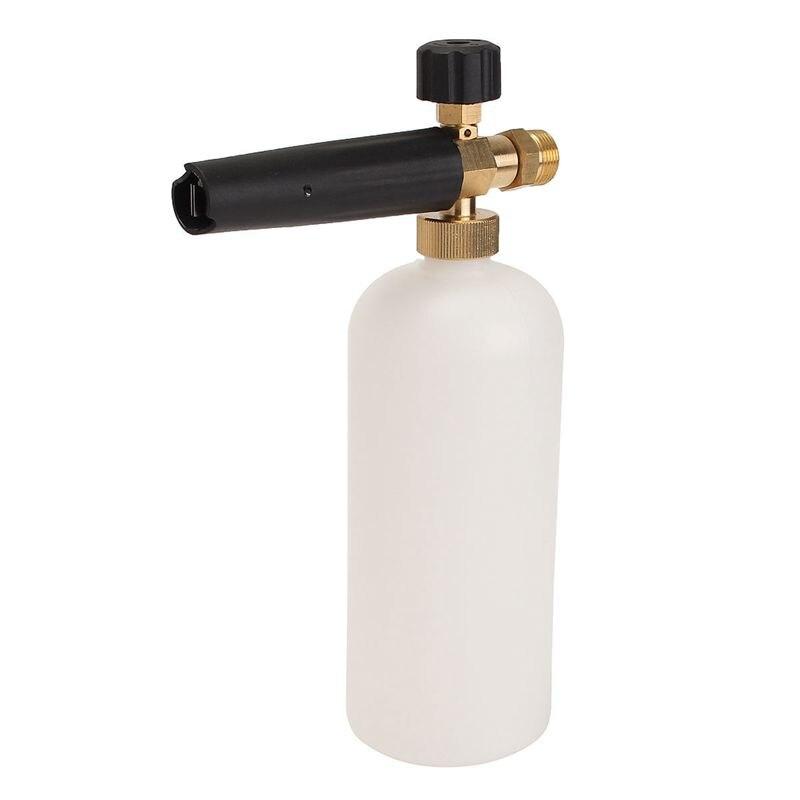 22mmx1.5 1L Adjustable Snow Foam Car Wash Soap Pressure Washer Bottle Threa