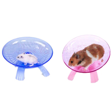 18cm Diameter Hamster Toy Mouse Plastic Running Disc Flying Saucer Pet Exercise Sport Jogging Wheel Small Tool 29