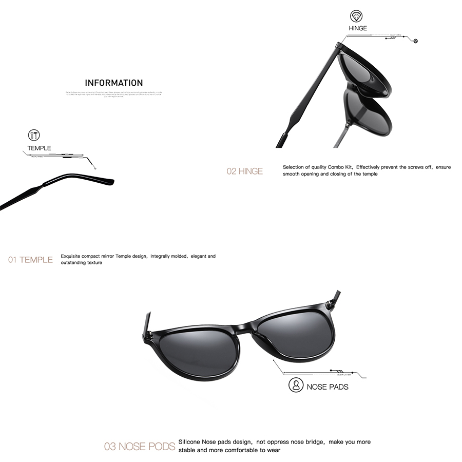 AEVOGUE New Women Polarized Korean Fashion Sunglasses Men Driving Retro Outdoor Glasses Brand Design UV400 AE0816 6