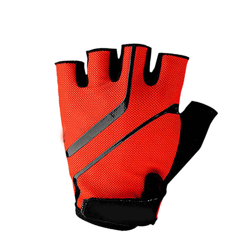 Riding Half Finger Gloves Sports Sunscreen Breathable Sweat-absorbent Non-slip Gloves