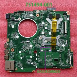 Image 2 - ل جناح HP 15 N سلسلة 15T N200 751494 001 751494 501 751494 601 DA0U82MB6D0 I5 4200U 840 M/2 G اللوحة اللوحة اختبار