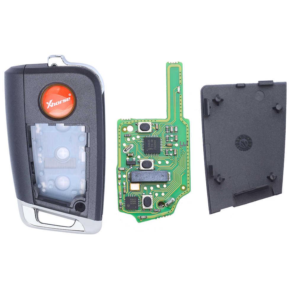 Xhorse Universal Smart Proximity 3B Smart MQB Jenis Kunci untuk Vvdi Alat Kunci VVDI2 PN: XSMQB1EN