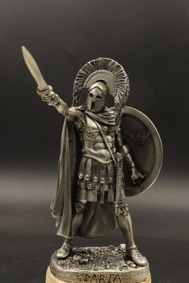 Ancient Greek Soldiers Set 1-3 figures #GR5401 1:32 54 mm Tin Soldier Set