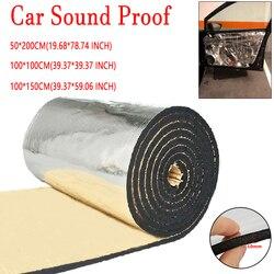10mm veículo isolamento fechado célula folha de espuma carro van som deadener isolamento esteira ruído lã calor térmica almofada de prova