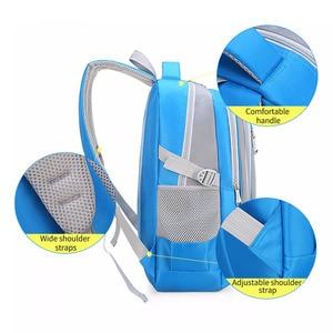 Image 3 - Primary Students Schoolbag Big Capacity Children Backpack Bag Reduce the Burden of Books Waterproof Pack for Teenager Girls Boys