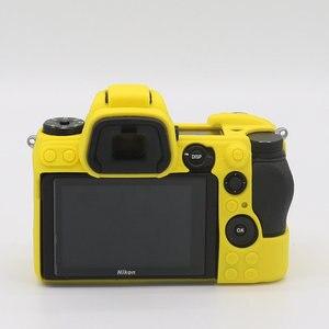 Image 5 - سيليكون درع الجلد DSLR كاميرا الجسم حالة غطاء حقيبة لنيكون Z7 Z6 D780 D3500 D5300 D5500 D5600 D7100 D7200 D7500 D750 D3400