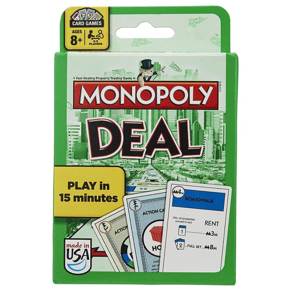 Monopoly Deal Card Game Toys Monopoly Game Adult Children Party Board Card Games Kids Toy