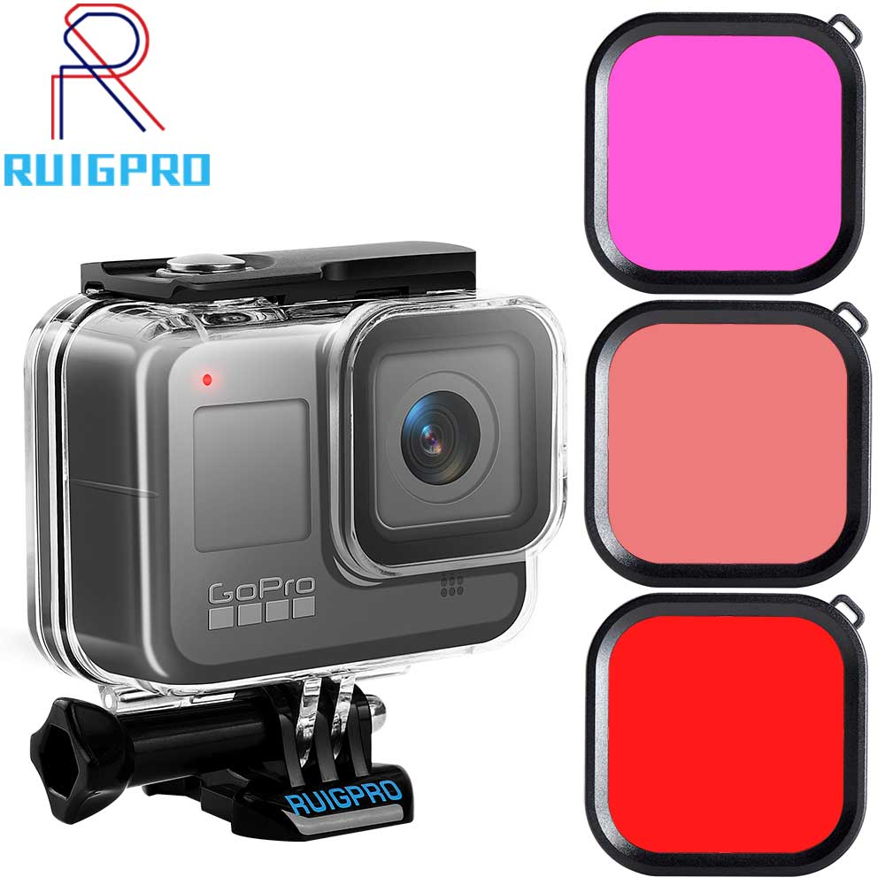 45m Underwater Waterproof Case Housing For Gopro Hero 8 Action Camera Go Pro 8 Black Accessories Protective Case Accessory